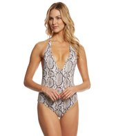 Vitamin A Serpentine Reversible Bianca One Piece Swimsuit