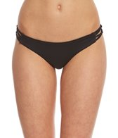 B.Swim Midnight Palm Pucker Bikini Bottom
