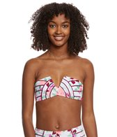 Betsey Johnson Prisoner of Love Molded Bikini Top