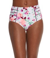Betsey Johnson Prisoner of Love High Waist Bikini Bottom