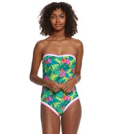 Betsey Johnson Betsey's Tropical Escape One Piece Swimsuit