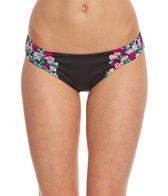 Betsey Johnson Ballerina Rose Hipster Bikini Bottom