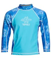Tidepools Girls' Starbust Long Sleeve UV 50+ Rashguard (2-14)