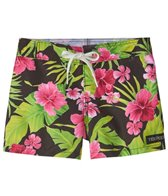 Tidepools Girls' Hibiscus Boardshort (2-14)