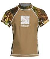 Tidepools Boys' Tonga Wonga UV 50+ Short Sleeve Rashguard (2-14)
