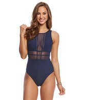 JETS by Jessika Allen Aspire High Neck One Piece Swimsuit