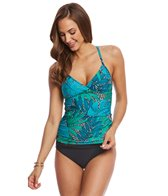 Jantzen Palm Springs V Neck Tankini Top