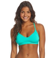 Eidon Swimwear Solid Madison Fixed Triangle Bikini Top (D/DD Cup)
