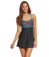 Waterpro Women's Floral Burst Swim Dress