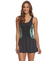 Dolfin Aquashape Women's Avanti Colorblock Swim Dress