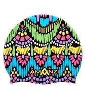 Amanzi Persian Jewel Silicone Swim Cap