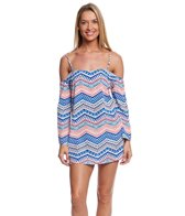 Kenneth Cole Colors of Caracas Off Shoulder Dress