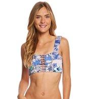 Maaji Swimwear Hashtag Blue Lover 4 Way Bikini Top