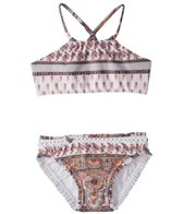 Seafolly Toddler Girl's Moroccan Paisley Tankini Set (2-7)