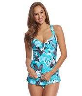 Seafolly Tropical Vacay Halter Tankini Top (DD-Cup)