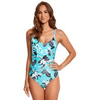 Seafolly Tropical Vacay One Piece Swimsuit (DD-Cup)