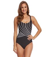 Gottex Embrace Square Neck One Piece Swimsuit