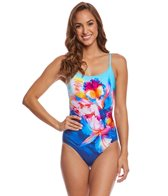 Gottex Hawaii Round Neck One Piece Swimsuit