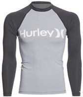 Hurley Men's One & Only Long Sleeve Rashguard