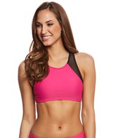 Sporti Active High Neck Crop Bikini Top