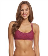 Sporti Active Chevron Double Cross Workout Bikini Top