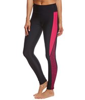 Sporti Active Chevron Color Block Swim Legging