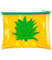 SunnyLife Pineapple See Thru Beach Pouch Bag