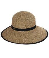 Sun N Sand Women's Backless Paperbraid 4 Beach Brim Hat