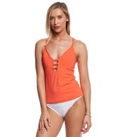 BLEU Rod Beattie Cruise Control Lace Front Tankini Top