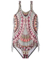 Billabong Girls' Boho Babe One Piece Swimsuit (4-14)