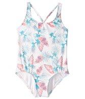 Roxy Girl's Salty Shade One Piece Swimsuit (7-16)