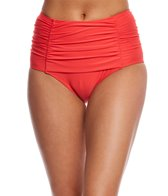 Kate Spade New York 3D Rose High Waisted Bikini Bottom