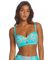 Coco Rave All Tied Up Peek-A-Boo Bikini Top (C/D/DD Cup)