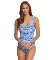 Coco Reef Contours Beaded Cobra Ascher One Piece Swimsuit (C/D Cup)
