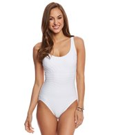 Coco Reef Contours Texture Classic Cut One Piece Swimsuit (C/D Cup)