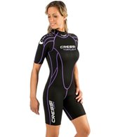 Cressi Women's 2.5mm Tortuga  Shorty Wetsuit