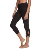Betsey Johnson Daisy Cutout Yoga Capris