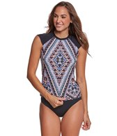 Seafolly Indian Summer Cap Sleeve Rashguard