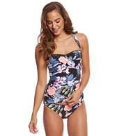 Seafolly Summer Vacay Bustier Bandeau Tankini Top
