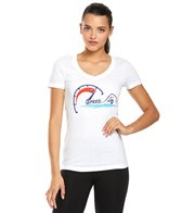 USA Swimming Women's Speed Crew Neck T-Shirt