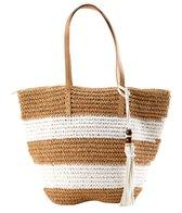 Pia Rossini Antigua Straw Tote Bag