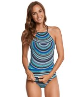 Jag Tribal Essence High Neck Tankini Top