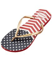 Havaianas Slim Chevron Stars and Stripes Flip Flop