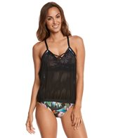 Next Botanix Turn Out Double Up Tankini Top (D-Cup)