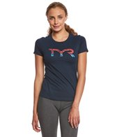 TYR Women's Veteran Graphic T Shirt