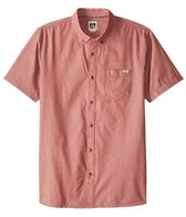 Reef Men's Washed Out Short Sleeve Shirt