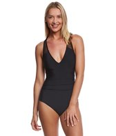 Magicsuit by Miraclesuit Solid Trinity One Piece Swimsuit
