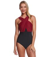 Miraclesuit Network Embrace Underwire One Piece Swimsuit