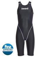 Jaked Girls' J11 Water Zero Open Back Tech Suit Swimsuit
