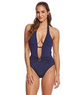 f652637387e Quick view. remove photo; remove photo. SALE. Trina Turk Studio Solid V-Plunge  One Piece Swimsuit. $67.99 - $87.99